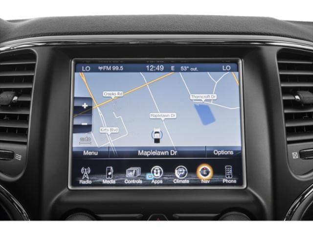 2019 Jeep Grand Cherokee Pictures Grand Cherokee SRT 4x4 photos navigation system