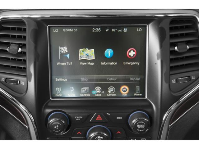 2019 Jeep Grand Cherokee Pictures Grand Cherokee Laredo E 4x2 photos navigation system