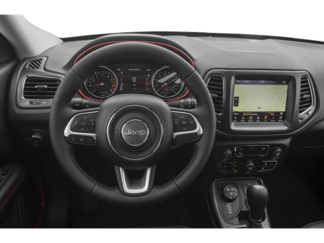2019 Jeep Compass Base Price Trailhawk 4x4 Pricing driver's dashboard