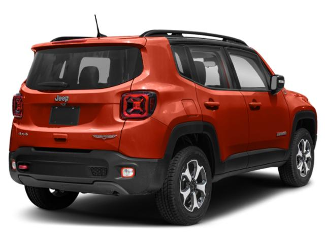 2019 Jeep Renegade Base Price Trailhawk 4x4 Pricing side rear view