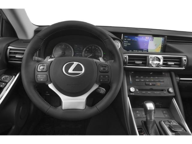 2019 Lexus IS Base Price IS 300 F SPORT RWD Pricing driver's dashboard