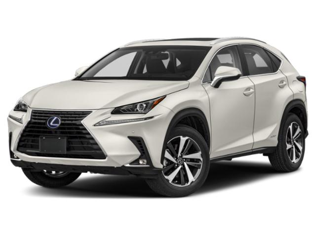 2019 Lexus NX Base Price NX 300h AWD Pricing side front view