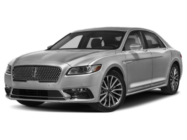 2019 Lincoln Continental Base Price Black Label FWD Pricing side front view