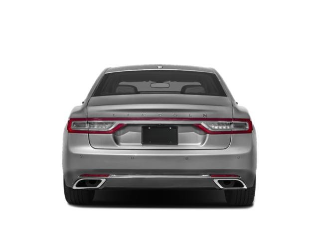 2019 Lincoln Continental Base Price Black Label FWD Pricing rear view
