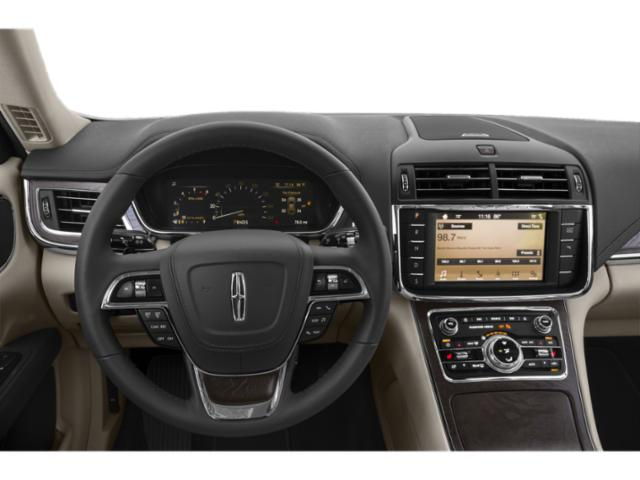 2019 Lincoln Continental Base Price Black Label FWD Pricing driver's dashboard