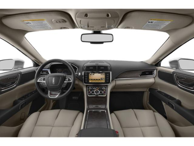 2019 Lincoln Continental Base Price Black Label FWD Pricing full dashboard