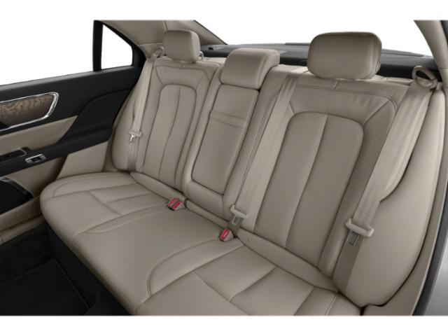2019 Lincoln Continental Base Price Black Label FWD Pricing backseat interior