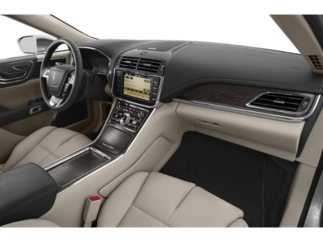 2019 Lincoln Continental Base Price Black Label FWD Pricing passenger's dashboard