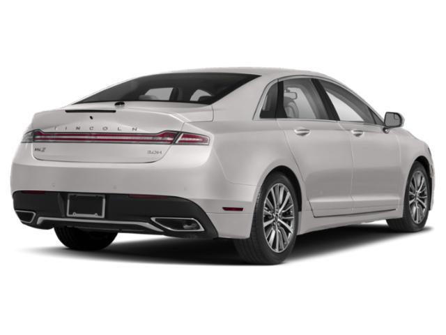 2019 Lincoln MKZ Pictures MKZ Hybrid Reserve II FWD photos side rear view