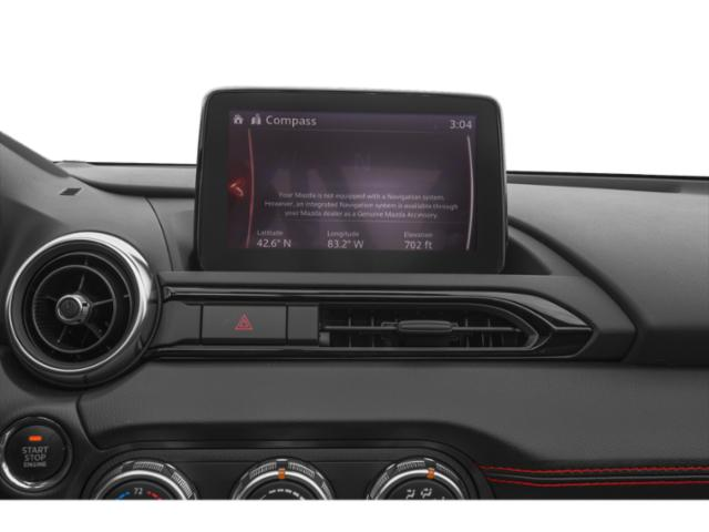 2019 Mazda MX-5 Miata RF Base Price Club Manual Pricing navigation system