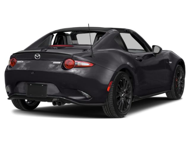 2019 Mazda MX-5 Miata RF Pictures MX-5 Miata RF Club Manual photos side rear view