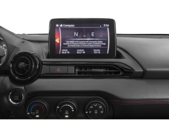 2019 Mazda MX-5 Miata RF Base Price Grand Touring Manual Pricing navigation system