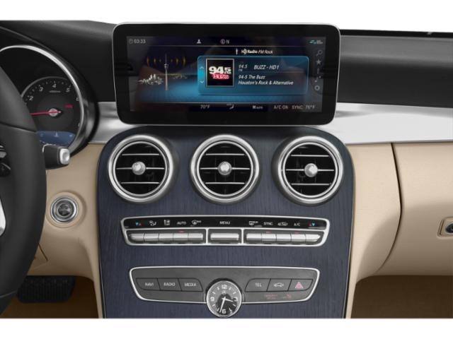 2019 Mercedes-Benz C-Class Pictures C-Class C 300 4MATIC Sedan photos stereo system