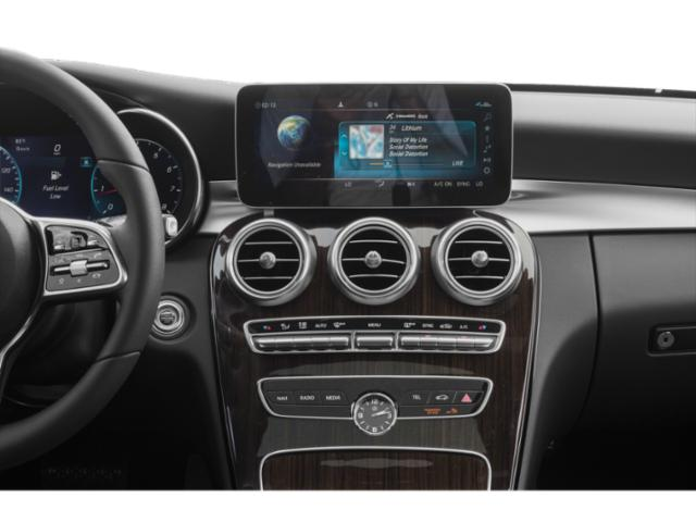 2019 Mercedes-Benz C-Class Pictures C-Class C 300 Sedan photos stereo system