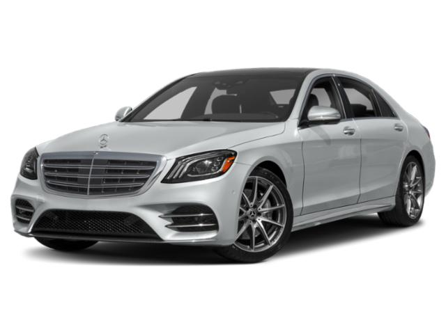 2019 Mercedes-Benz S-Class Pictures S-Class S 450 Sedan photos side front view