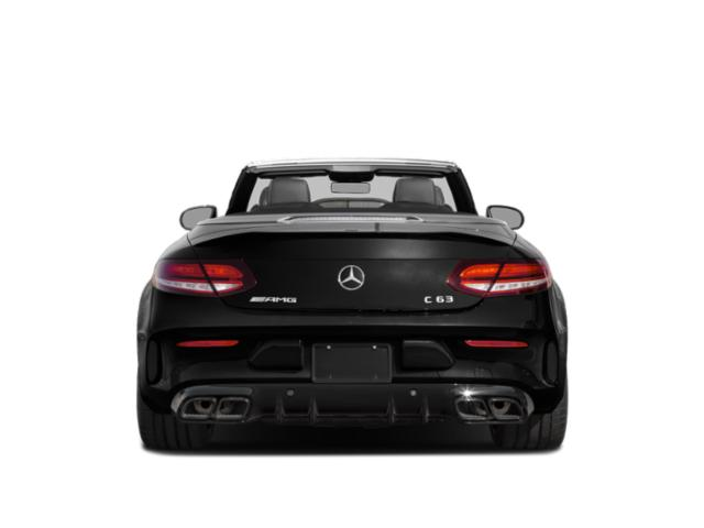 2019 Mercedes-Benz C-Class Base Price AMG C 63 S Sedan Pricing rear view