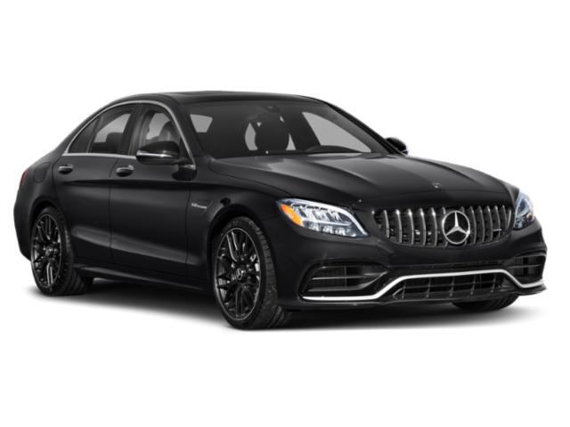 2019 Mercedes-Benz C-Class Base Price AMG C 63 Sedan Pricing side front view