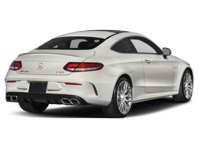 2019 Mercedes-Benz C-Class Base Price AMG C 63 Sedan Pricing side rear view