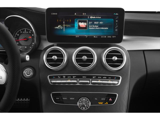 2019 Mercedes-Benz C-Class Base Price AMG C 63 Sedan Pricing stereo system