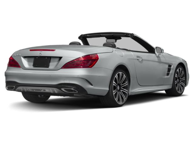 2019 Mercedes-Benz SL Pictures SL SL 450 Roadster photos side rear view