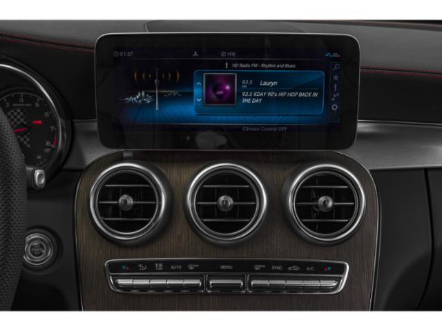 2019 Mercedes-Benz C-Class Base Price AMG C 43 4MATIC Sedan Pricing stereo system