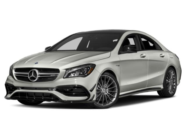 2019 Mercedes-Benz CLA Pictures CLA AMG CLA 45 4MATIC Coupe photos side front view