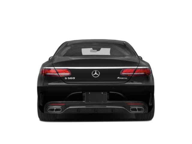 2019 Mercedes-Benz S-Class Pictures S-Class S 560 4MATIC Coupe photos rear view