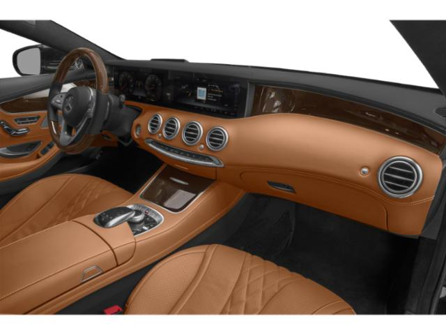 2019 Mercedes-Benz S-Class Pictures S-Class S 560 4MATIC Coupe photos passenger's dashboard