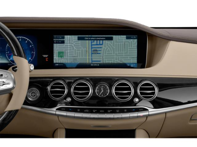 2019 Mercedes-Benz S-Class Base Price S 560 4MATIC Coupe Pricing navigation system