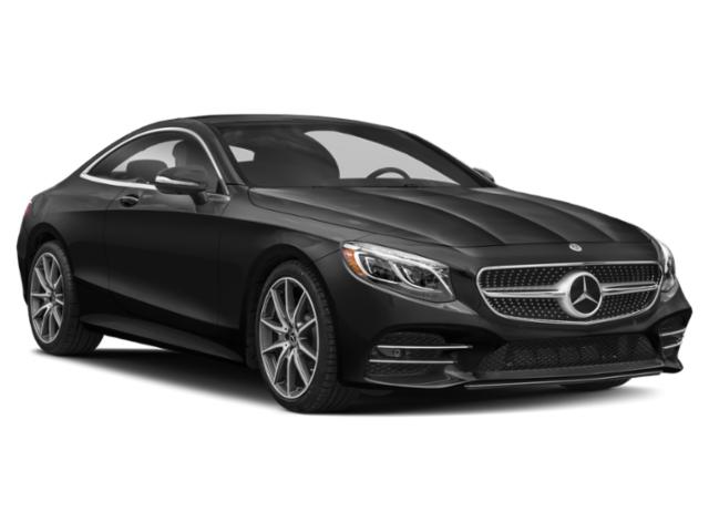 2019 Mercedes-Benz S-Class Base Price S 560 4MATIC Coupe Pricing side front view