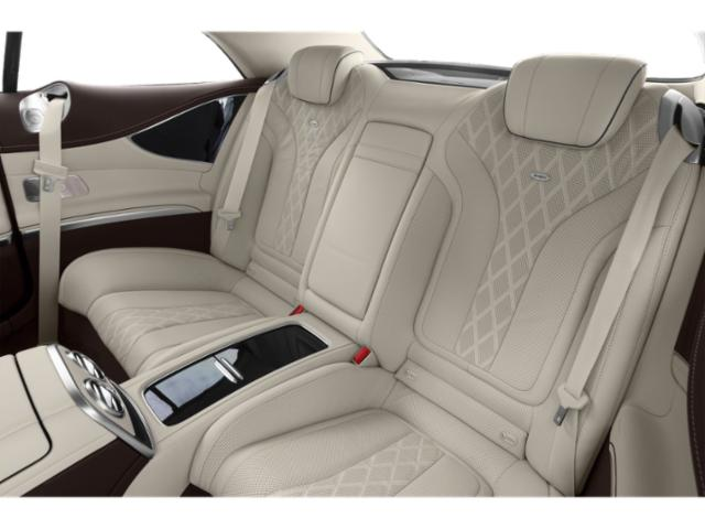 2019 Mercedes-Benz S-Class Pictures S-Class S 560 4MATIC Coupe photos backseat interior