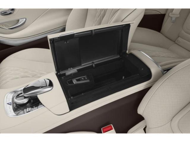 2019 Mercedes-Benz S-Class Pictures S-Class S 560 4MATIC Coupe photos center storage console