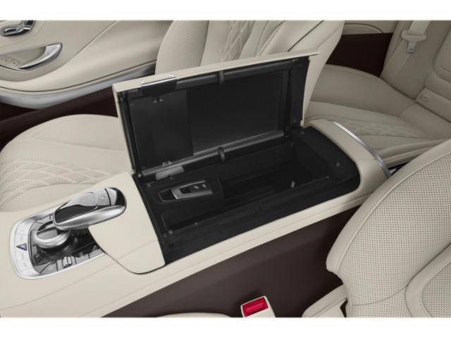 2019 Mercedes-Benz S-Class Pictures S-Class S 560 Sedan photos center storage console
