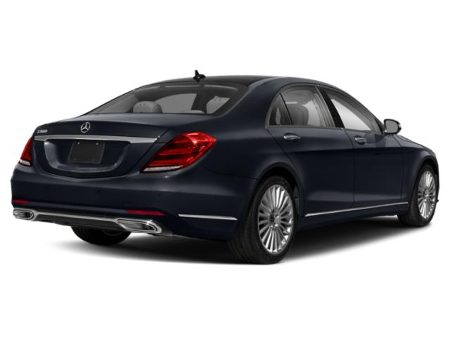 2019 Mercedes-Benz S-Class Pictures S-Class S 560 Sedan photos side rear view