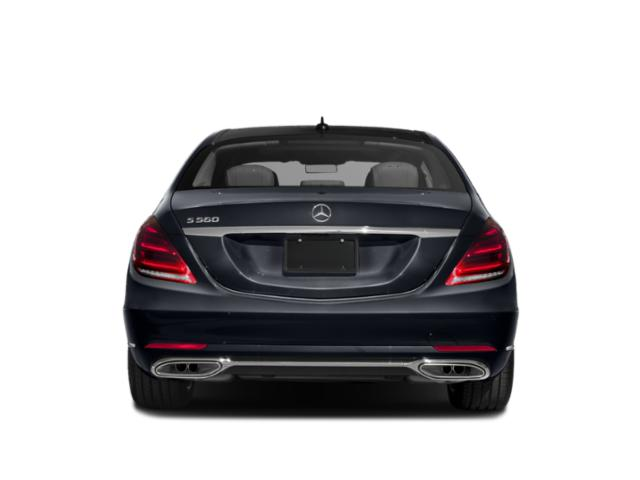 2019 Mercedes-Benz S-Class Pictures S-Class S 560 Sedan photos rear view