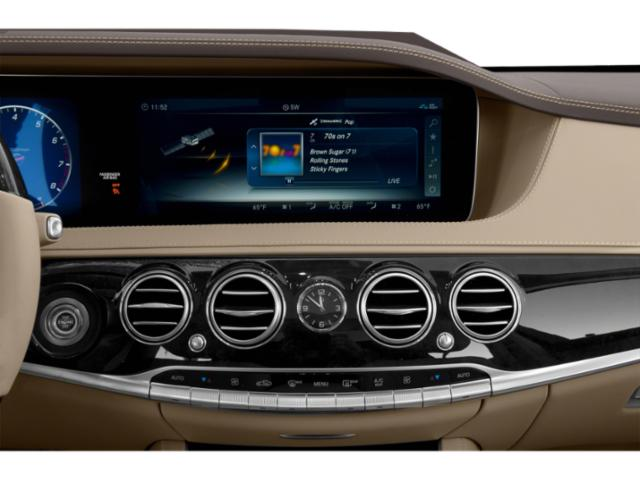 2019 Mercedes-Benz S-Class Base Price S 560 4MATIC Coupe Pricing stereo system
