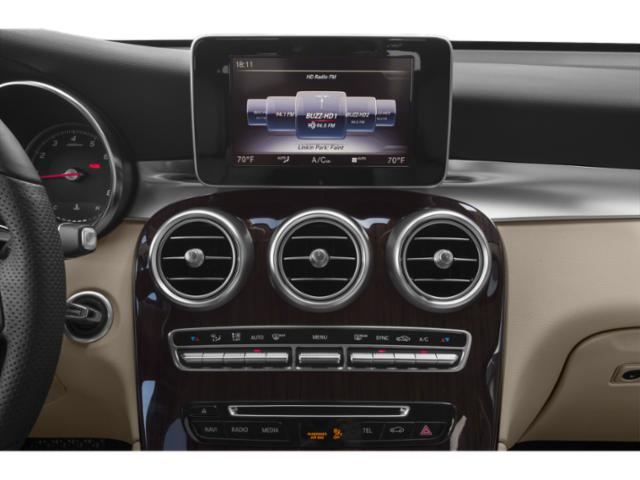 2019 Mercedes-Benz GLC Base Price GLC 300 4MATIC SUV Pricing stereo system