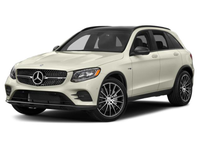 2019 Mercedes-Benz GLC Base Price AMG GLC 43 4MATIC SUV Pricing side front view