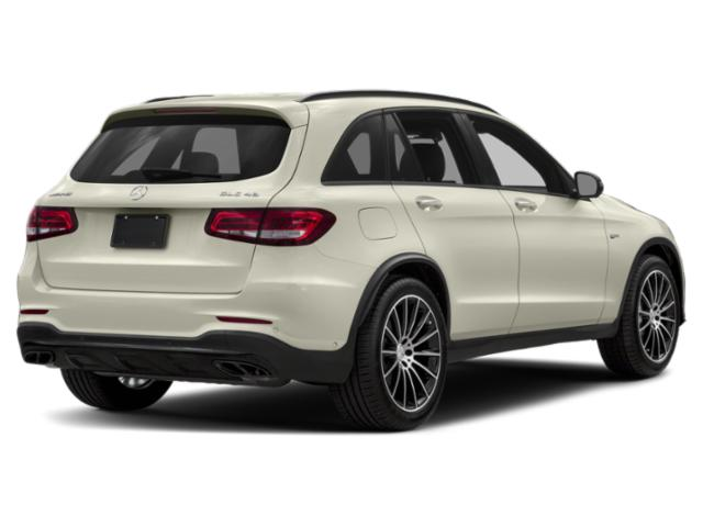 2019 Mercedes-Benz GLC Base Price AMG GLC 43 4MATIC SUV Pricing side rear view
