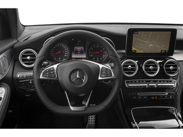 2019 Mercedes-Benz GLC Base Price AMG GLC 43 4MATIC SUV Pricing driver's dashboard