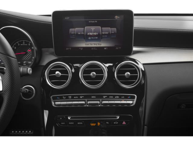 2019 Mercedes-Benz GLC Base Price AMG GLC 43 4MATIC SUV Pricing stereo system