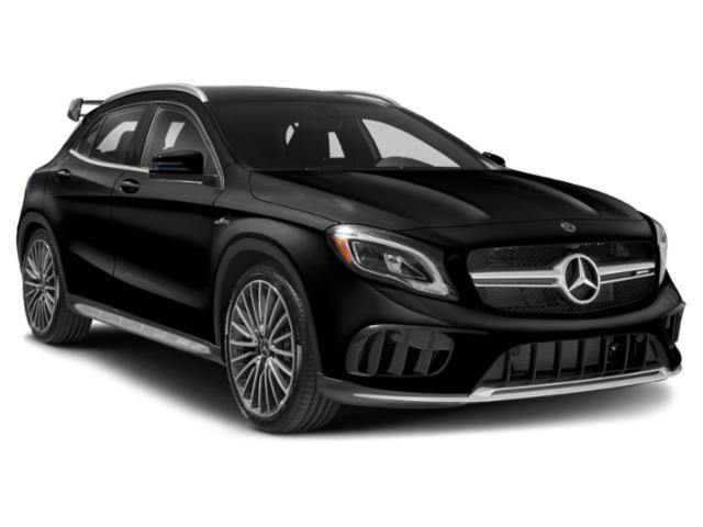 2019 Mercedes-Benz GLA Base Price AMG GLA 45 4MATIC SUV Pricing side front view