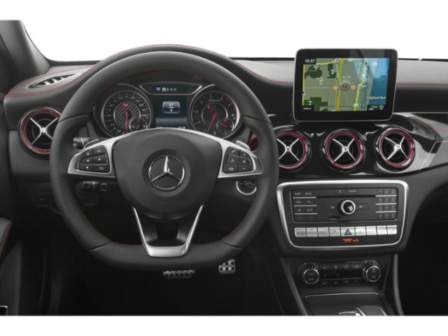2019 Mercedes-Benz GLA Base Price AMG GLA 45 4MATIC SUV Pricing driver's dashboard