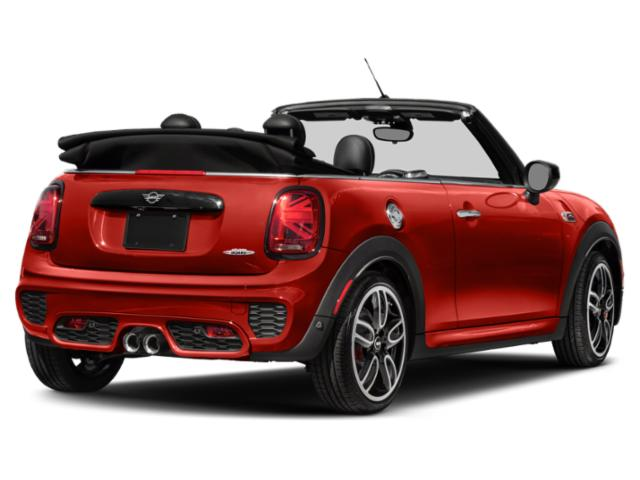 2019 MINI Convertible Base Price John Cooper Works FWD Pricing side rear view