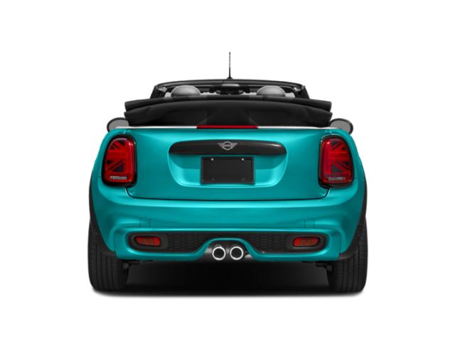 2019 MINI Convertible Pictures Convertible Cooper FWD photos rear view