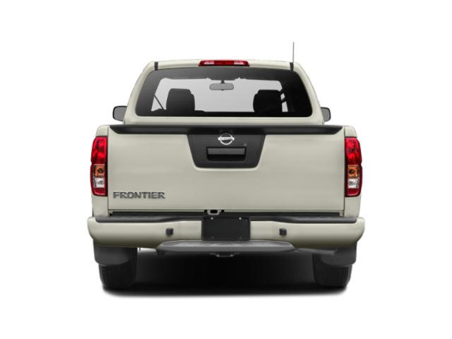 2019 Nissan Frontier Base Price King Cab 4x2 S Manual Pricing rear view