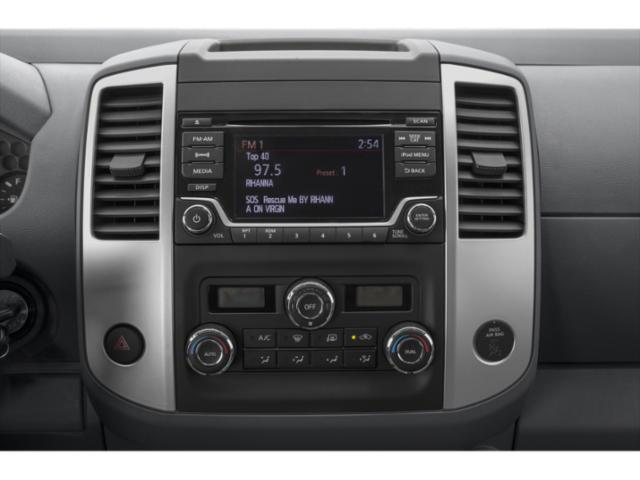 2019 Nissan Frontier Base Price King Cab 4x2 S Manual Pricing stereo system