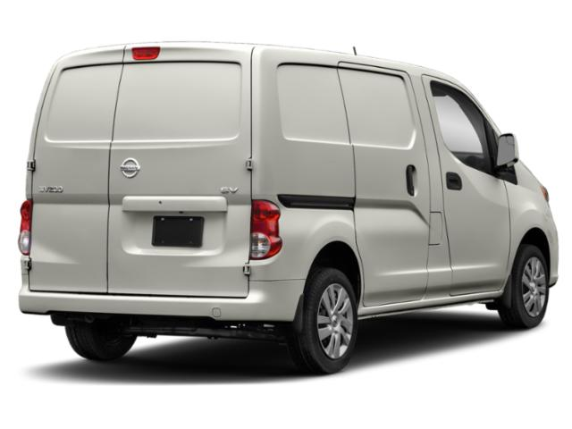2019 Nissan NV200 Compact Cargo Pictures NV200 Compact Cargo I4 S photos side rear view