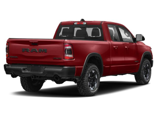 2019 Ram Truck 1500 Base Price Longhorn 4x4 Crew Cab 5'7 Box Pricing side rear view