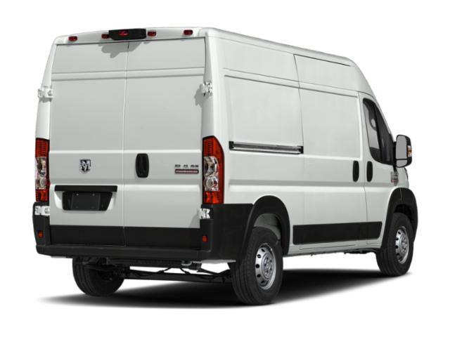2019 Ram Truck ProMaster Cargo Van Base Price 2500 High Roof 136 WB Pricing side rear view